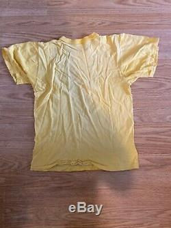 Snoopy T-shirt Vtg Années 70 1977 Derby Days Chapel Hill Unc M Tarheels Champions