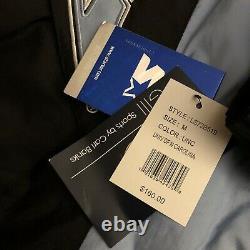 Starter Unc Tarheels Pullover Jacket Hooded Retro Mens Sz Medium Blue Nwt 160 $