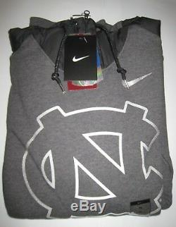 Sweat À Capuche Hybride Nike Unc North Carolina Tar Heels Gris Nouveau Tn-o. 80 $ S-m-l-xl-2xl