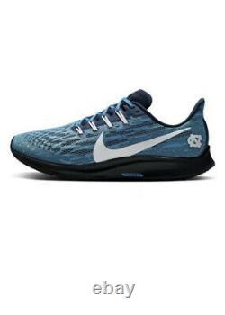 Sz Nouveau Homme 12 Nike Air Zoom Pegasus 36 Unc N. Carolina Tar Heels Ci2084-400
