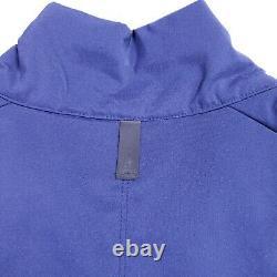T.n.-o. Nike Air Jordan Unc Tar Talons Light Puffer Jacket Hommes Taille Large Navy Blue