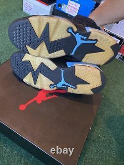 Taille 10 Jordan 6 Retro Tar Talons, Unc 2017