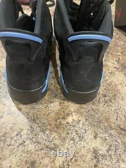 Taille 12 Jordan 6 Retro Tar Talons, Unc 2017