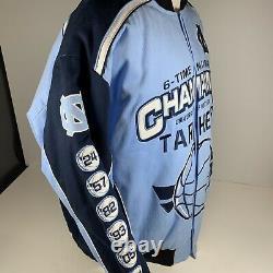 Talons Caroline Du Nord Unc Tar 6 Fois Veste Champions National Basketball New XL