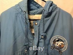 Talons Vintage Unc North Carolina Tar Starter Jacket Cole Anthony Coby Luke Cam