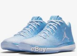 Tn Nike Air Jordan 31 XXXI Caroline Du Nord Unc Tar Heels 897564-407 Sz-17