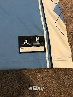Tn-o Mens Jordan Brand Unc Tar Heels Jordan 23 Cousu Basketball Jersey Medium