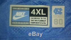 Tn-o Vtg Nike Lawrence Animaux Morts Taylor 98 Unc Tar Heels Sewn Football Jersey 4xl