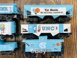 Train Électrique Électrique Vintage Championship Unc Tar Heels 1993, Calibre 0, Kline