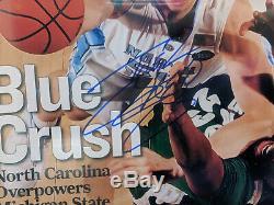 Tyler Hansbrough Unc Tar Heels Signed 11x14 Autograph Beckett Photo Encadré Coa