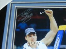 Tyler Hansbrough Unc Tar Heels Signed 8x10 Photo Encadré Autographe Beckett Coa A