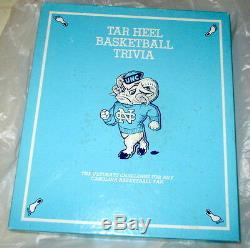 Unc Basketball Chapel Hill Tar Heel Trivia Game Michael Jordan 1985 Rare