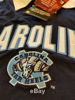 Unc Carolina Animaux Morts Tar Heels Starter Manches Longues Polo XL Avec De Nouvelles Balises