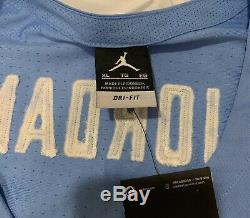 Unc Carolina Tar Heels Michael Jordan 23 Cousu Basketball Jersey Nike XL Bleu