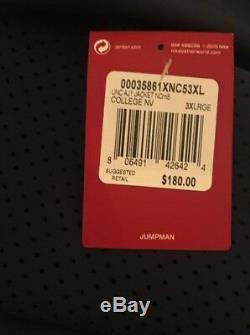 Unc Carolina Tar Talons Veste Nike Air Jordan 1 Ailes Aj1 3xl XXXL Tn-o. 180 $
