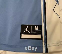 Unc Caroline Du Nord Tar Heels Michael Jordan 23 Cousu Basketball Jersey Nike M