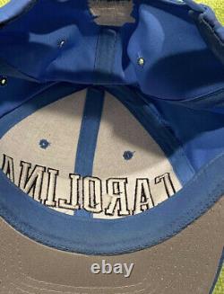 Unc Caroline Du Nord Tar Heels Starter Snapback Adult Baseball Basketball Hat Vtg