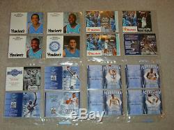 Unc Caroline Du Nord Tarheels Lot De 146 Horaires De Basketball 1970-2018 Nrmt Neuf