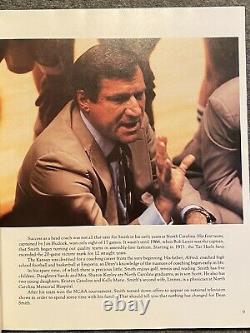 Unc Championnat National Tarheels Ncaa Basketball 1982 Livre De Couverture Rigide