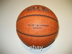 Unc North Carolina Tar Heels 2013 Game Used Nike Elite Championship Basketball