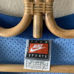 Unc North Carolina Tar Heels Vince Carter #15 Maillot De Basket-ball Cousu Sz 44 Nike