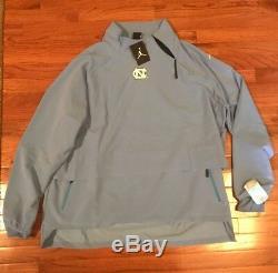 Unc North Carolina Tar Talons Nike Jordan 23 Tech 1/4-zip Jacket Nwt 2xl XXL