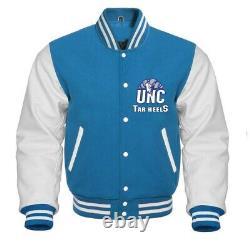 Unc North Carolina Tarheels Ncaa Varsity Jacket Toutes Tailles