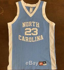 Unc Rare Vintage Nike North Carolina Tar Heels Michael Jordan Basketball Jersey