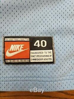 Unc Rare Vintage Nike North Carolina Tar Heels Vince Carter Basketball Jersey