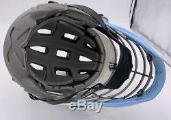 Unc Tar Heels Cascade Cascade Cpx Lacrosse Avec Face Cage & Jugulaire