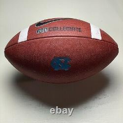 Unc Tar Heels Game Ball Nike 3005 Collegiate Ncaa Football Acc University