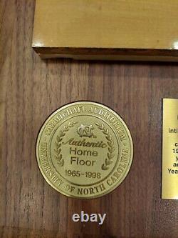 Unc Tar Talons Carmichael Auditorium Jeu Used Flooring Michael Jordan Authentic
