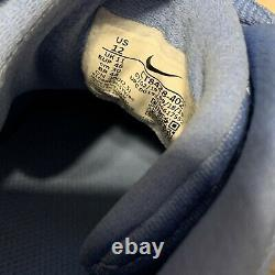 Unc Tarheels Ncaa Nike Alpha Huarache 2 Elite Pe Metal Baseball Crampons Sz 12
