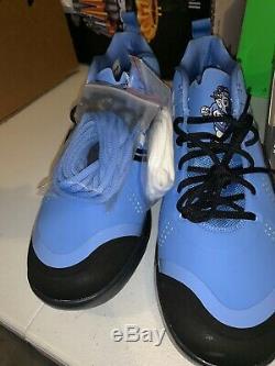 Unc Tarheels Pe Entraîneur Chaussures Nike Zoom Trout 4 Turf Rare A01011 400