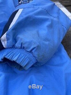 Unc Tarheels Starter Veste Hiver Vintage Hommes 4xl Caroline Du Nord Bleu Vtg