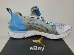 Unc X Jordan React Havoc Caroline Du Nord Tar Heels Blanc / Bleu Nike Taille 12