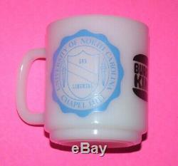 University Of North Carolina Tar Heels Unc Ncaa Burger King Vintage Glasbake Tasse
