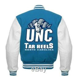 Veste Varsity Rare Unc North Carolina Tarheels Toutes Tailles