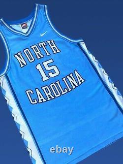 Vintage 1995-98 Unc North Carolina Tar Heels'vince Carter' 15 Ncaa Basketball M
