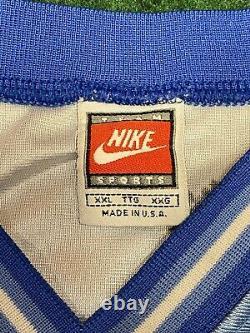 Vintage 90s Nike Caroline Du Nord Vince Carter Tar Talons Basketball Jersey Hommes XXL