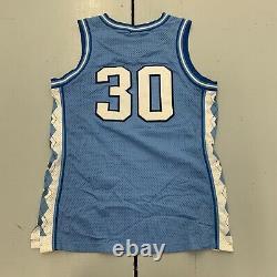 Vintage 90s Unc North Carolina Tar Talons Rasheed Wallace #30 Jersey Hommes Taille Lg