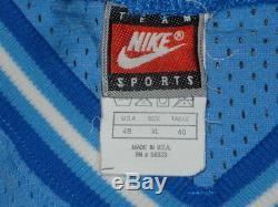Vintage Authentique Nike Unc Tar Talons De La Caroline Du Nord Tarhe Raseau Wallace 48