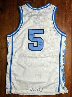Vintage Nike Ed Cota Jersey Caroline Du Nord Tar Talons Basketball Ncaa Unc Euc 44