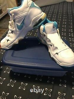 Vintage Nike Force Air 2 Strong Chaussures Homme Taille 15 Unc Tarheels Player Numéro