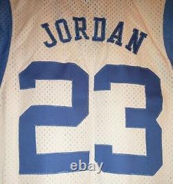 Vintage Nike Michael Jordan #23 Unc North Carolina Tar Heels Jersey (new W Tags)