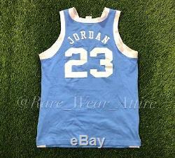 Vintage Nike Michael Jordan Chandail De Talons De Goudron Caroline Du Nord Unc Basketball Sz 44