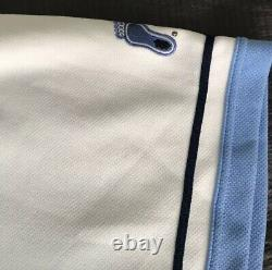 Vintage Nike Teams Sports Unc Tar Heels Basketball Warm Up Shooting Shirt Homme