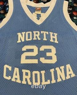 Vintage Nike Unc North Carolina Tar Heels Michael Jordan Basketball Jersey