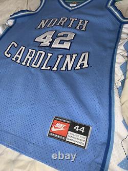 Vintage Nike Unc Tarheels Basketball Jersey Stackhouse #42