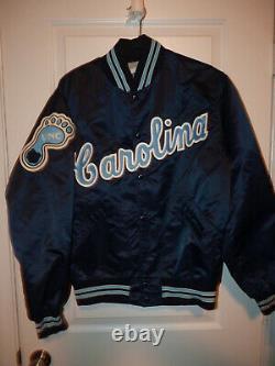 Vintage North Carolina Tar Heels Unc Jacket Button Homme Taille 42